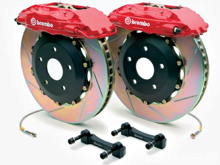 BREMBO Front Brake Rotor  for Mercedes  W203 C300 with Sport Package  08-12